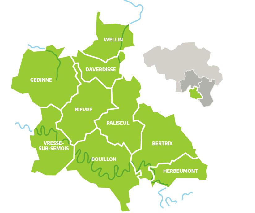 territoire du GAL Ardenne méridionale